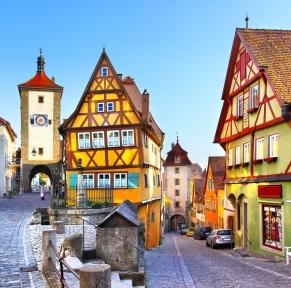 Route romantique allemande et les châteaux de Bavière
