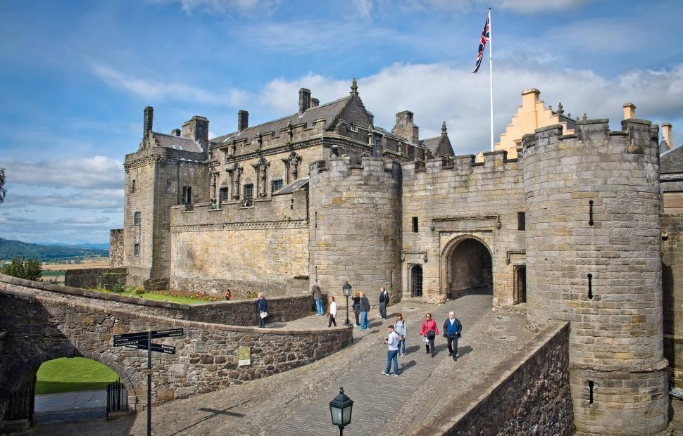 Château de Stirling (c) VB34162810�VisitBritain-VisitScotland