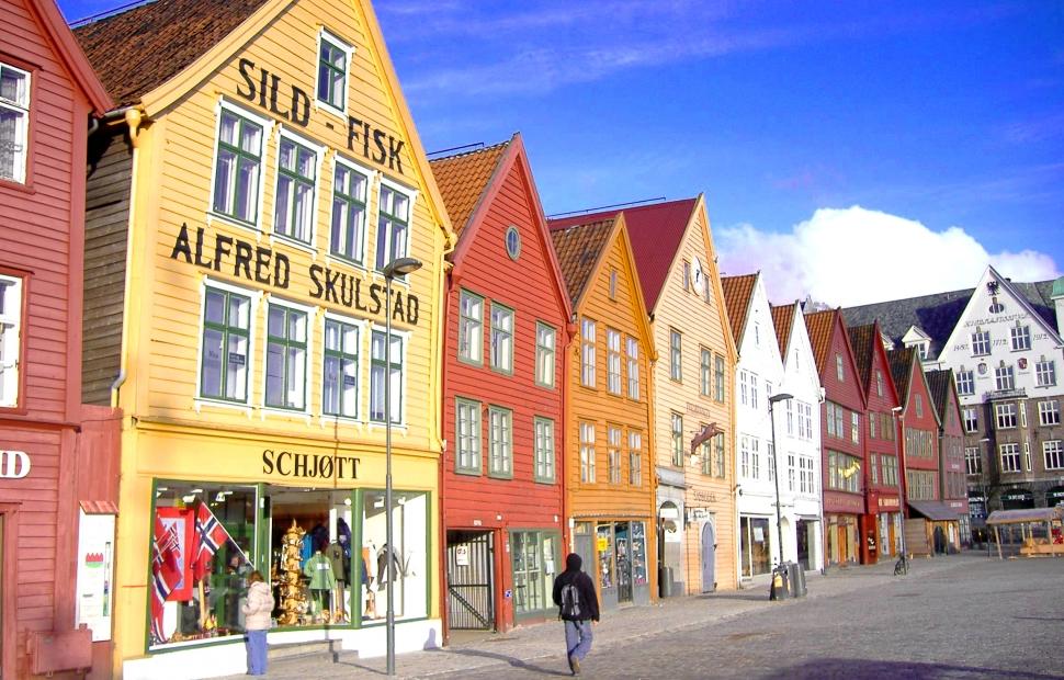 Maisons port hans�atique de Bergen (c) Andrea Giubelli - Visitnorway.com