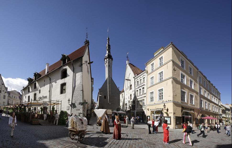 Streets of Tallinn Old Town (c) Toomas Tuul OT Estonie