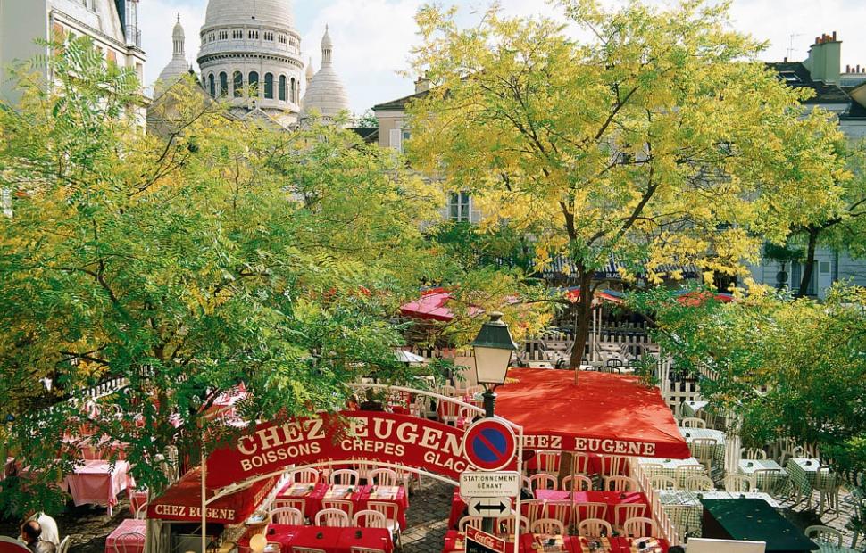 Place du Tertre, Sacr�-Coeur (c) Paris Tourist Office - Alain Potignon
