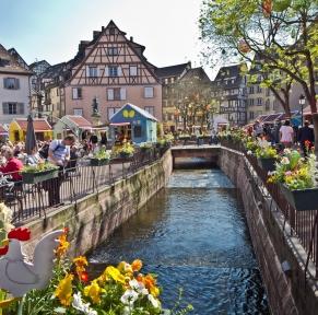 Alsace, Colmar fête le printemps