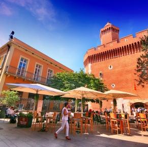 Canet-en-Roussillon, les pieds dans l'eau