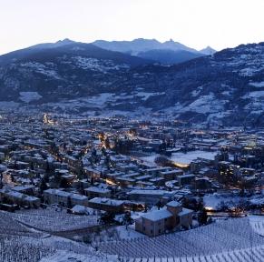 Nouvel An dans le Valais Suisse