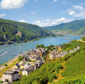 Croisière romantique sur le Rhin et la Moselle