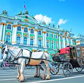 De St Petersbourg à Moscou