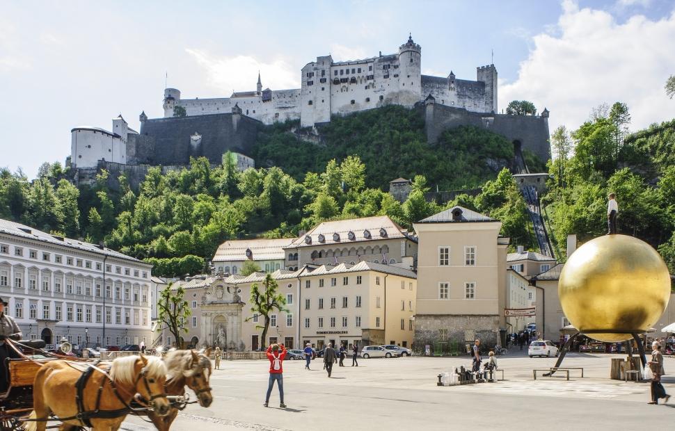 Kapitelplaz, Salzbourg - Tourismus Salzburg GmbH - Bryan Reinhart