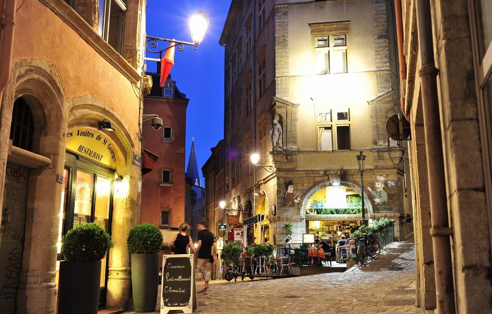 Quartier St Jean, Vieux Lyon - Atout France - Fabian Charaffi