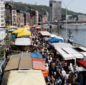 Marché de la Batte à Liège et Fête du Potiron à Sprimont