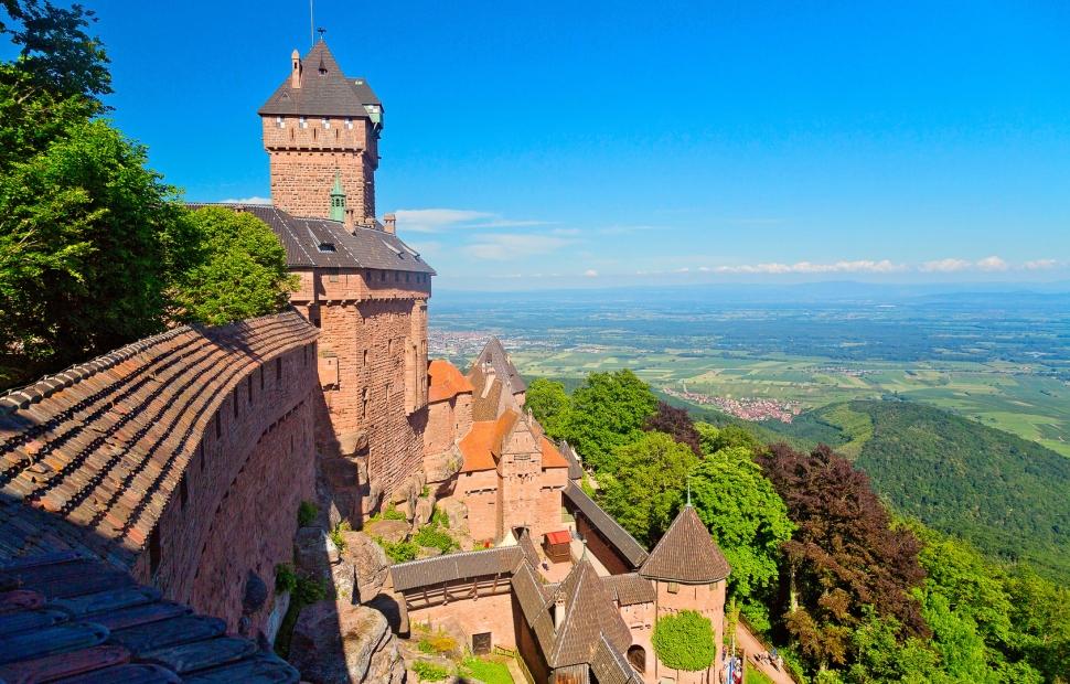 Château du Haut-Koenigsbourg (c) fotolia�santosha57 - stock.adobe.com