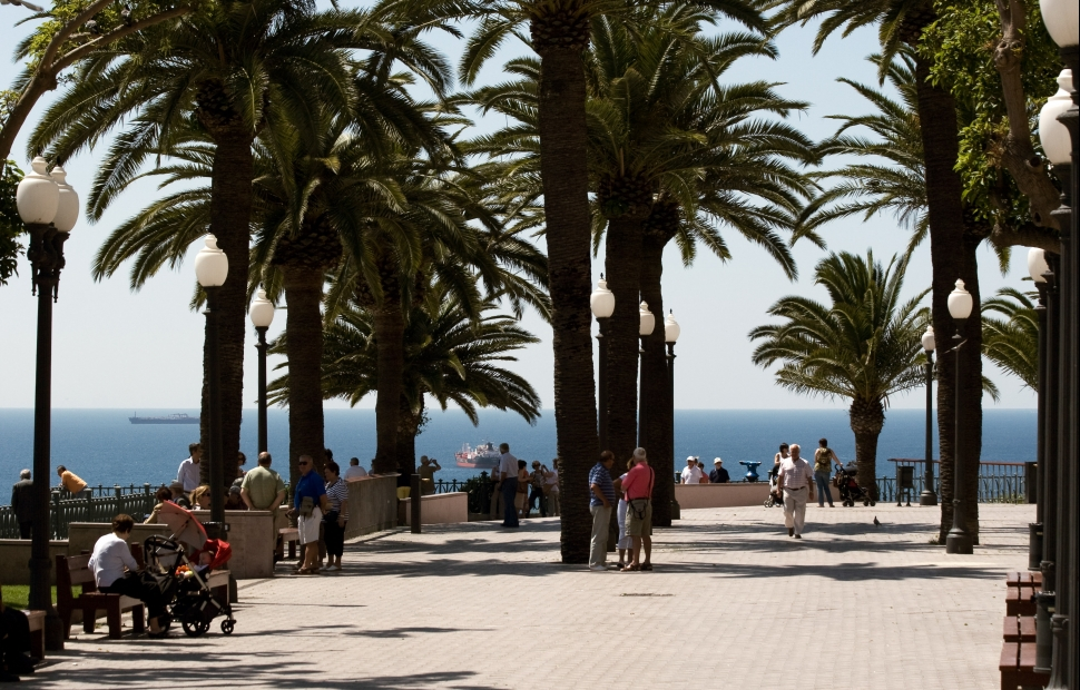 Passeig de les Palmeres � Tarragona Turisme - Jordi Dom�nech