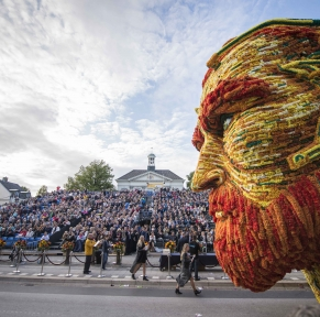 La Zélande et le célèbre corso fleuri de Zundert