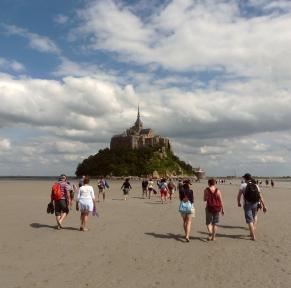 Randonnées dans la baie du Mont-St-Michel