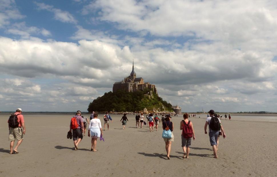 Traversee de la Baie du Mont-Saint-Michel -� K. Riley CRT Normandie