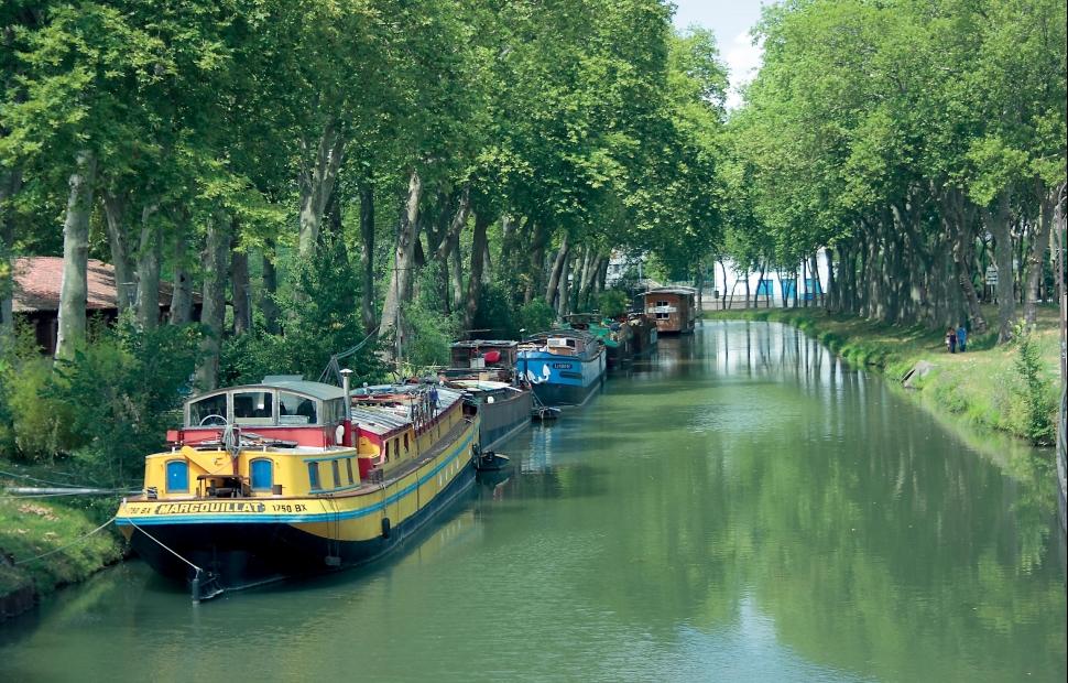 Canal du Midi -� Jos � Manuel Herrador.