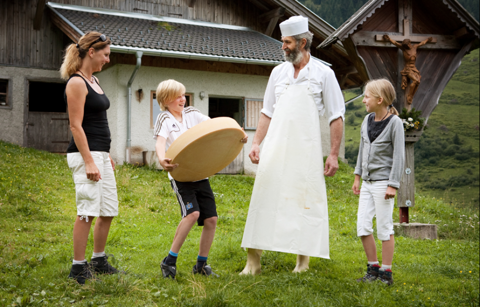 Fromager à Wildschönau (c) TirolWerbung