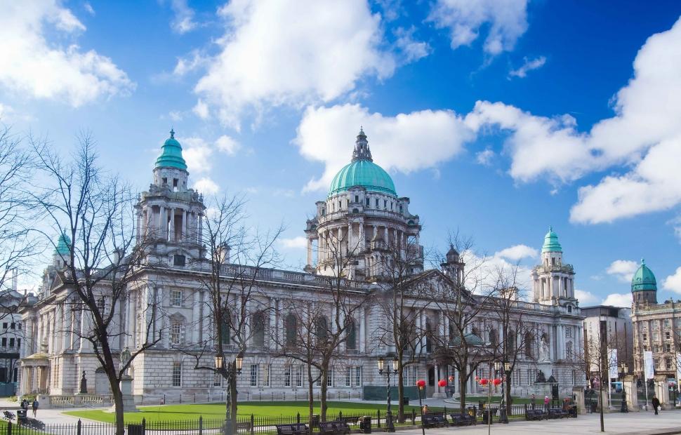 Belfast, City Hall (c) Irlande du nord tourisme