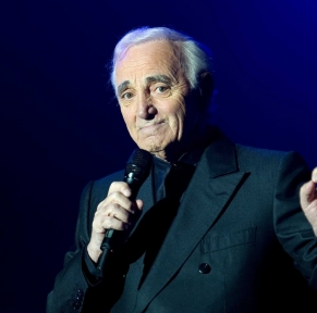 Charles Aznavour à Forest National