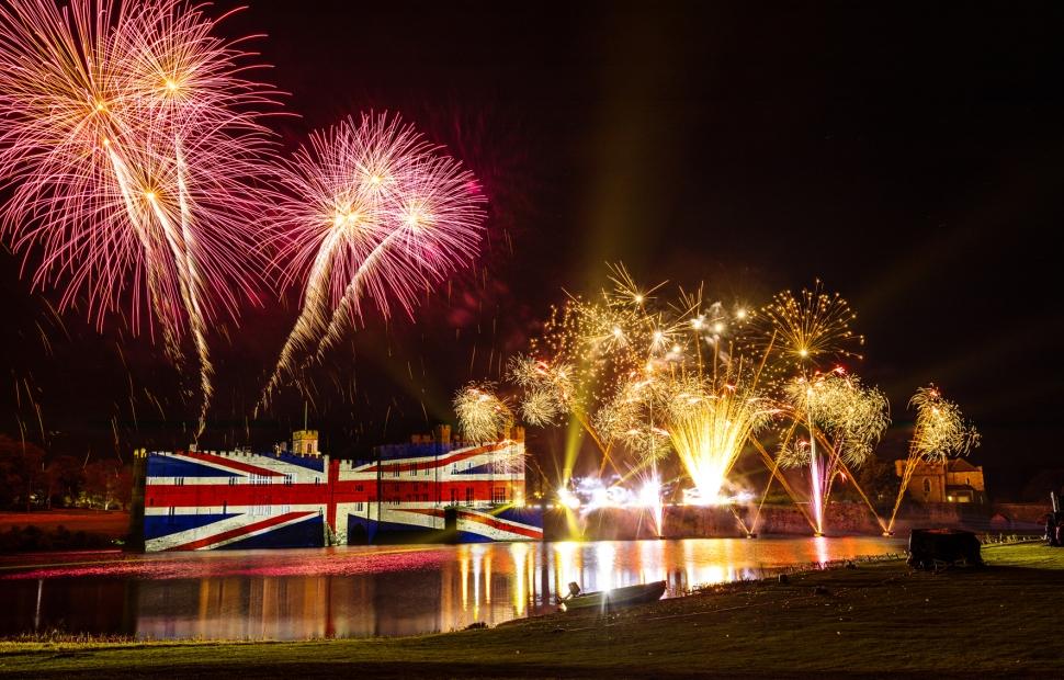 (c) Fireworks Spectacular Leeds Castle Foundation