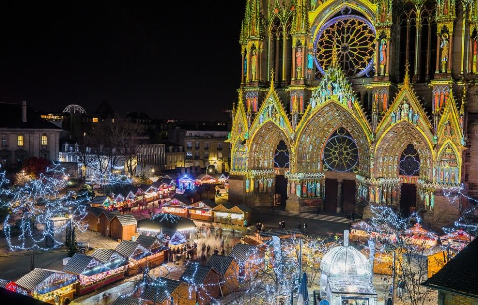 No�l � Reims (c) Ville de Reims - Cyril Beudot