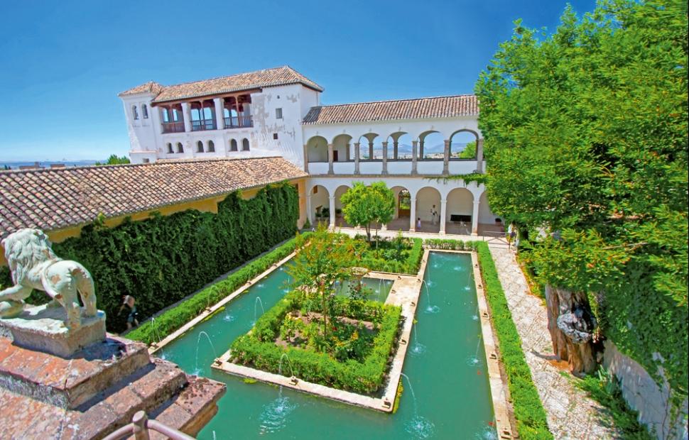 Jardins de l'Alhambra (c) Shutterstock