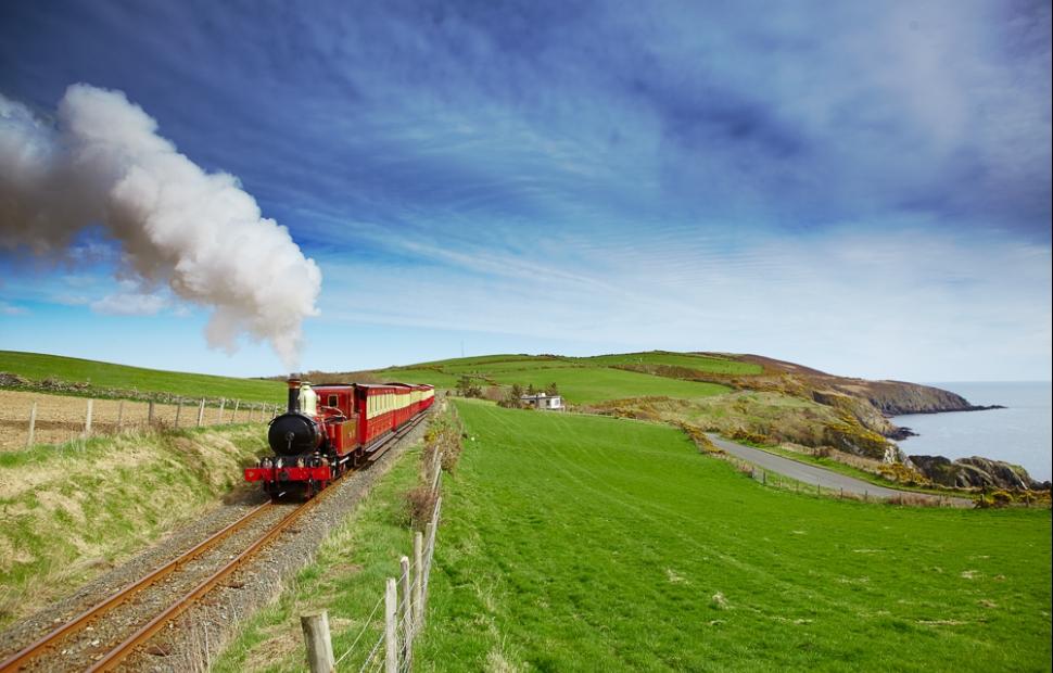 Ile de Man, train � vapeur (c) Visit Isle of Man