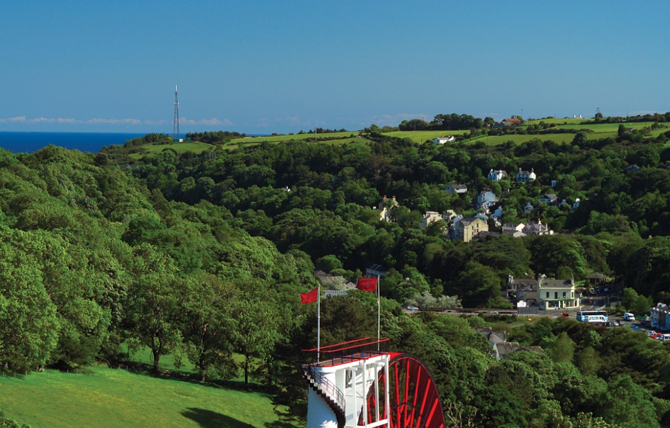 The Laxey wheel (c) Visit Isle of Man