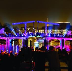 Amsterdam & le festival de Lumière