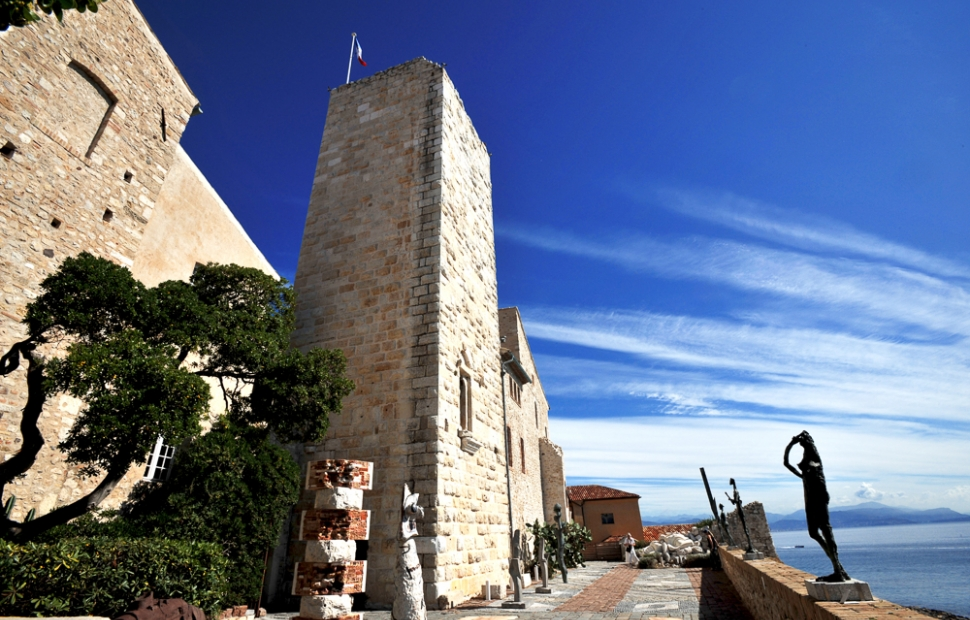 Mus�e Picasso (c) CRT Riviera C�te d'Azur - Photographe  Georges VERAN