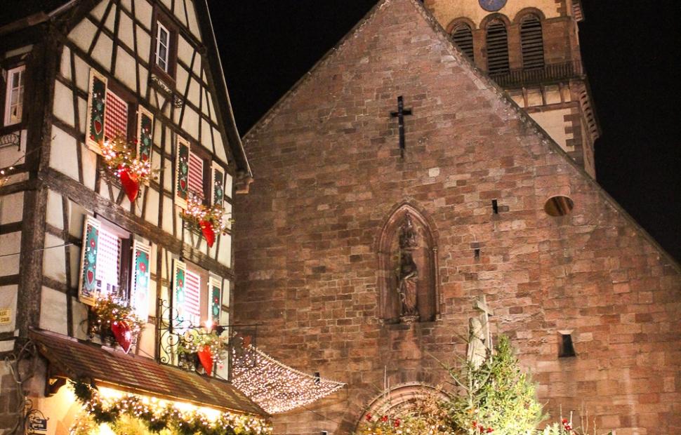Eglise Sainte-Croix - Noel a Kaysersberg-�AAA-Birge