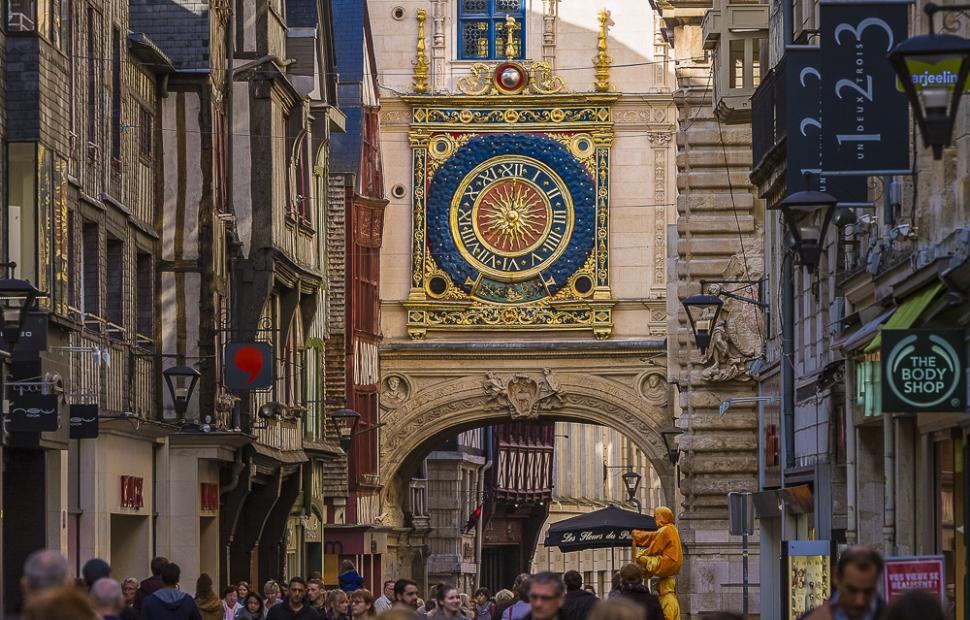 Rouen, Gros-Horloge � Seine-Maritime Tourisme-V.Rustuel