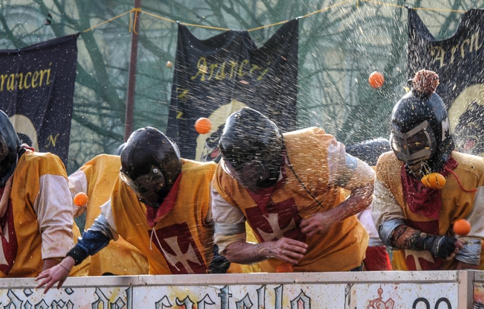 Carnaval Ivrea (c) iStock