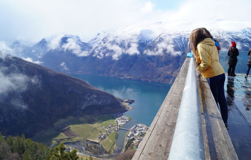 Poitn de vue de Stegastein (c) Visit Norway