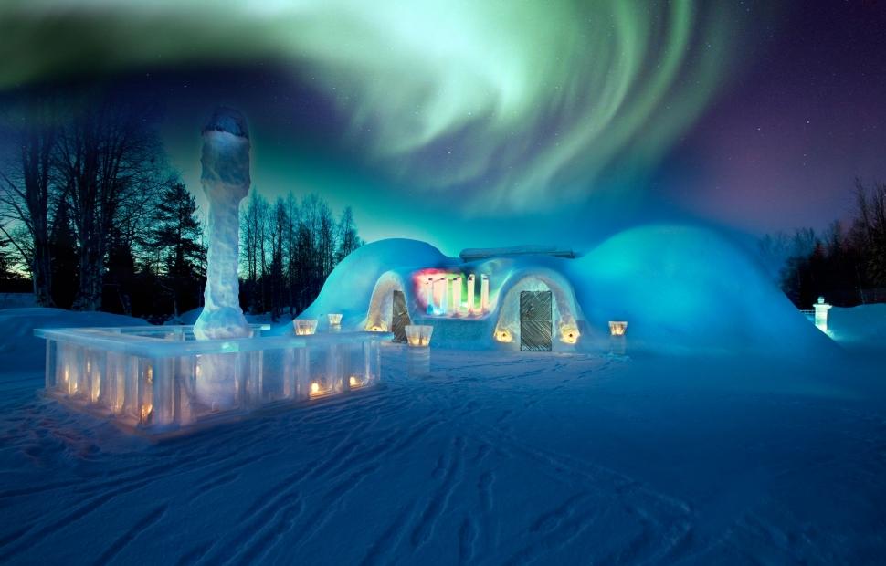 Finlande - Igloo - (c) visitfinland