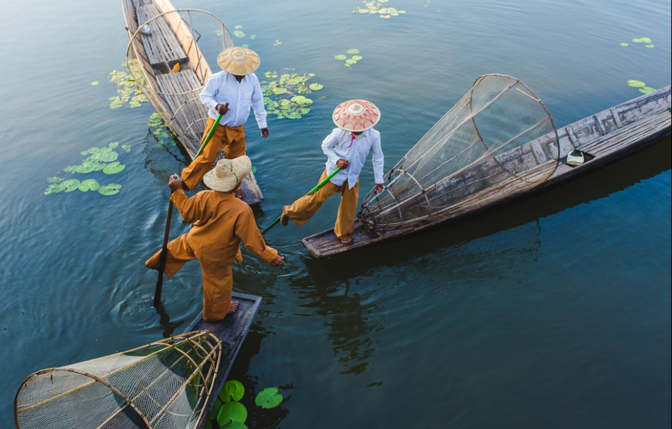 P�cheur Lac Inle (c) Adobestock