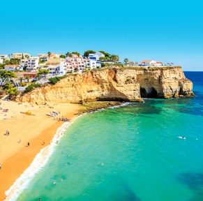 Albufeira, perle balnéaire d'Algarve