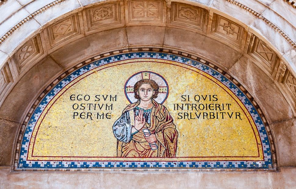 Porec, mosaïques de la basilique euphrasienne (c) AdobeStock