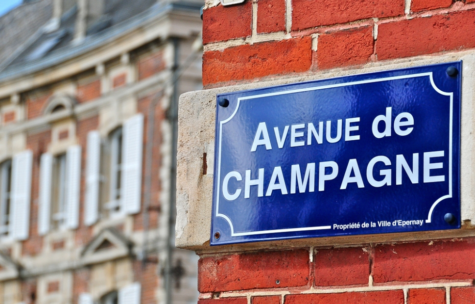Epernay Avenue de Champagne cr �dit photo CRTCA