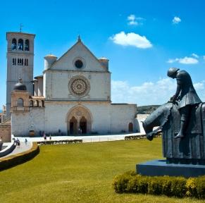 Sur les pas de St-François d'Assise en terre d'Ombrie