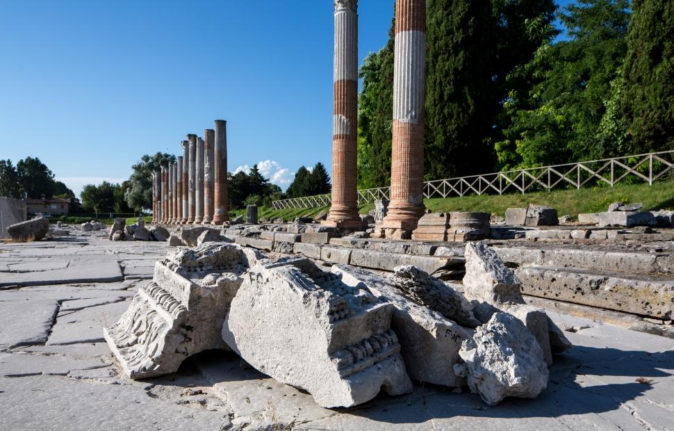 Aquileia, forum romain (c) Archivio_PromoTurismoFVG_Ph_Massimo Crivellari (POR FESR 2007-2013)