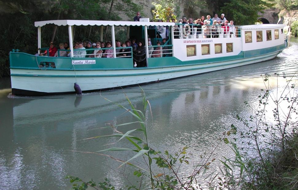 B�ziers, bateau Santa Maria