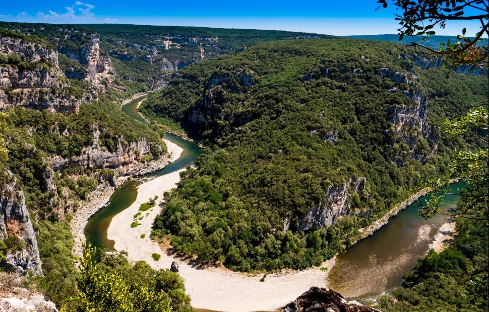 Gorges de l-Ard�che � M. Geray-ADT07