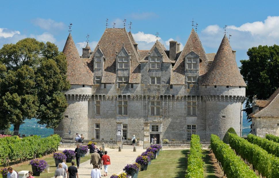 ch�teau de Monbazillac (c) _B._DUPUY___CRTA-Chateau_de_Monbazillac_-_Vignoble_de_Bergerac-7704
