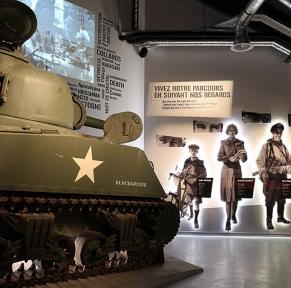 La Voie de la Liberté, de Sainte-Mère-Eglise à Bastogne