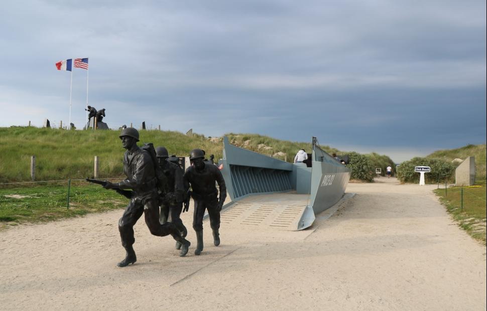 Utah Beach -� S. Freres - CRT Normandie