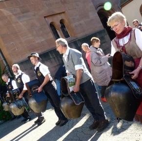 Fête de la transhumance en Alsace