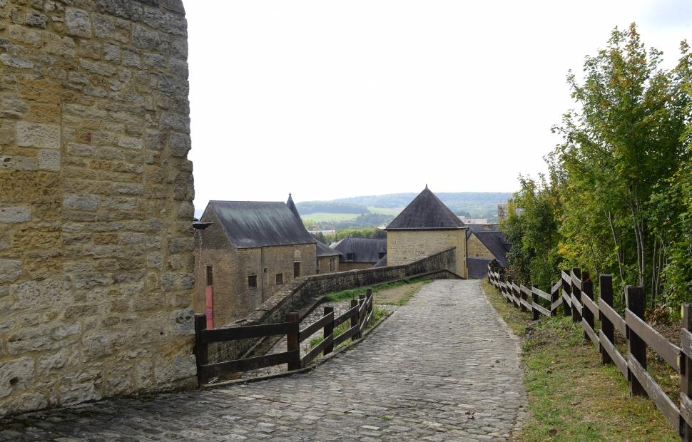 Ch�teau fort de Sedan, chemin de ronde (c) Ch�teau fort de Sedan
