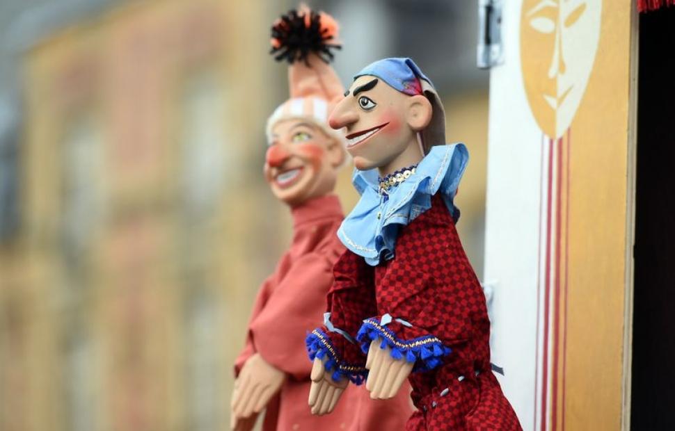 Festival international du th��tre de marionnettes