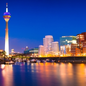 Düsseldorf, une atmosphère festive
