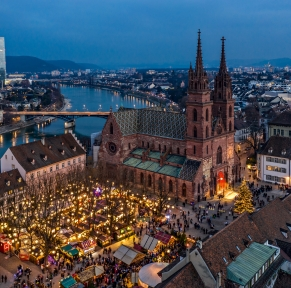 Marchés de Noël à Mulhouse, Bâle, Freiburg & Colmar